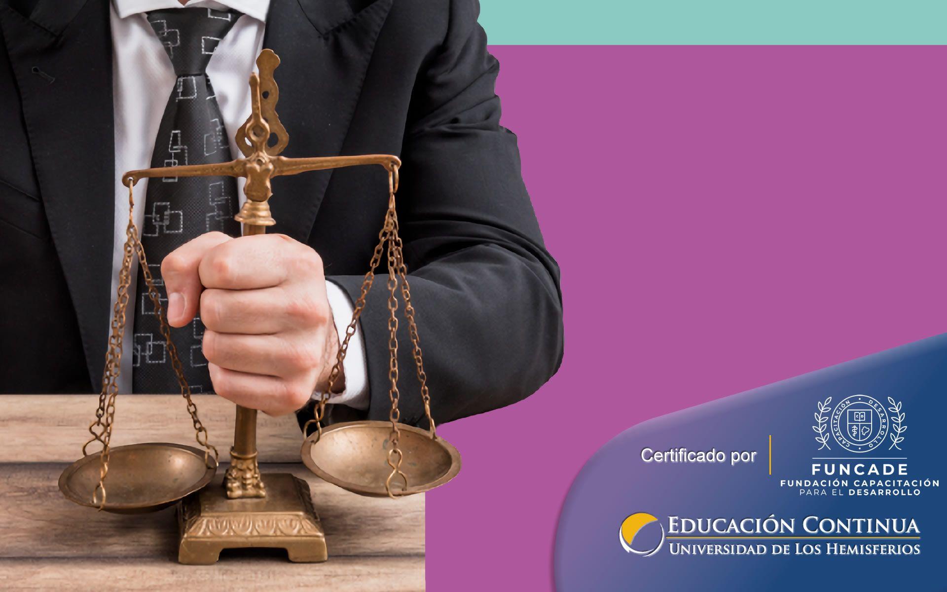 Certificación de Auxiliar Jurídico