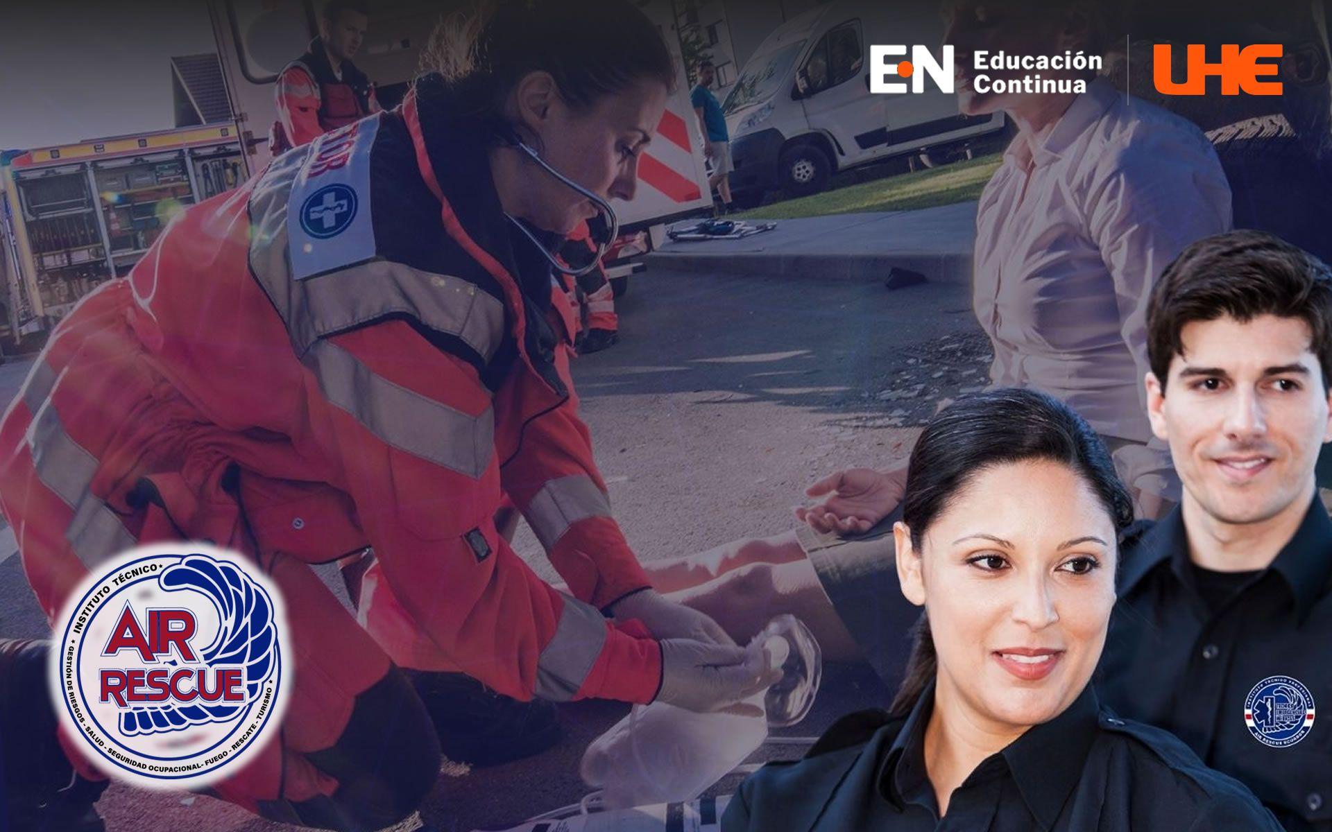 Curso en Emergencias Médicas Con Mención En Rescate Y Prevención