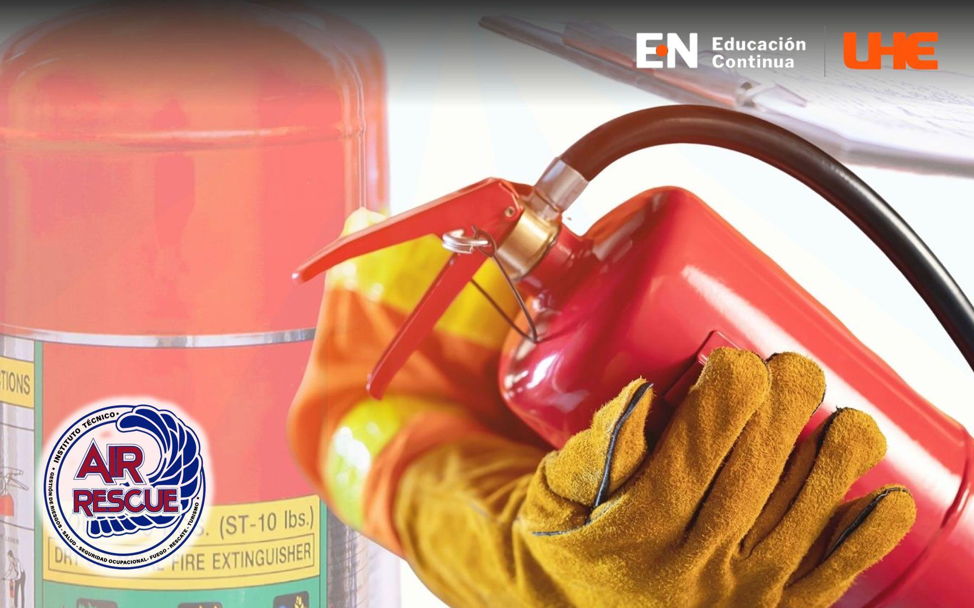 Curso en Recarga y Mantenimiento de Extintores Conforme NFPA 10
