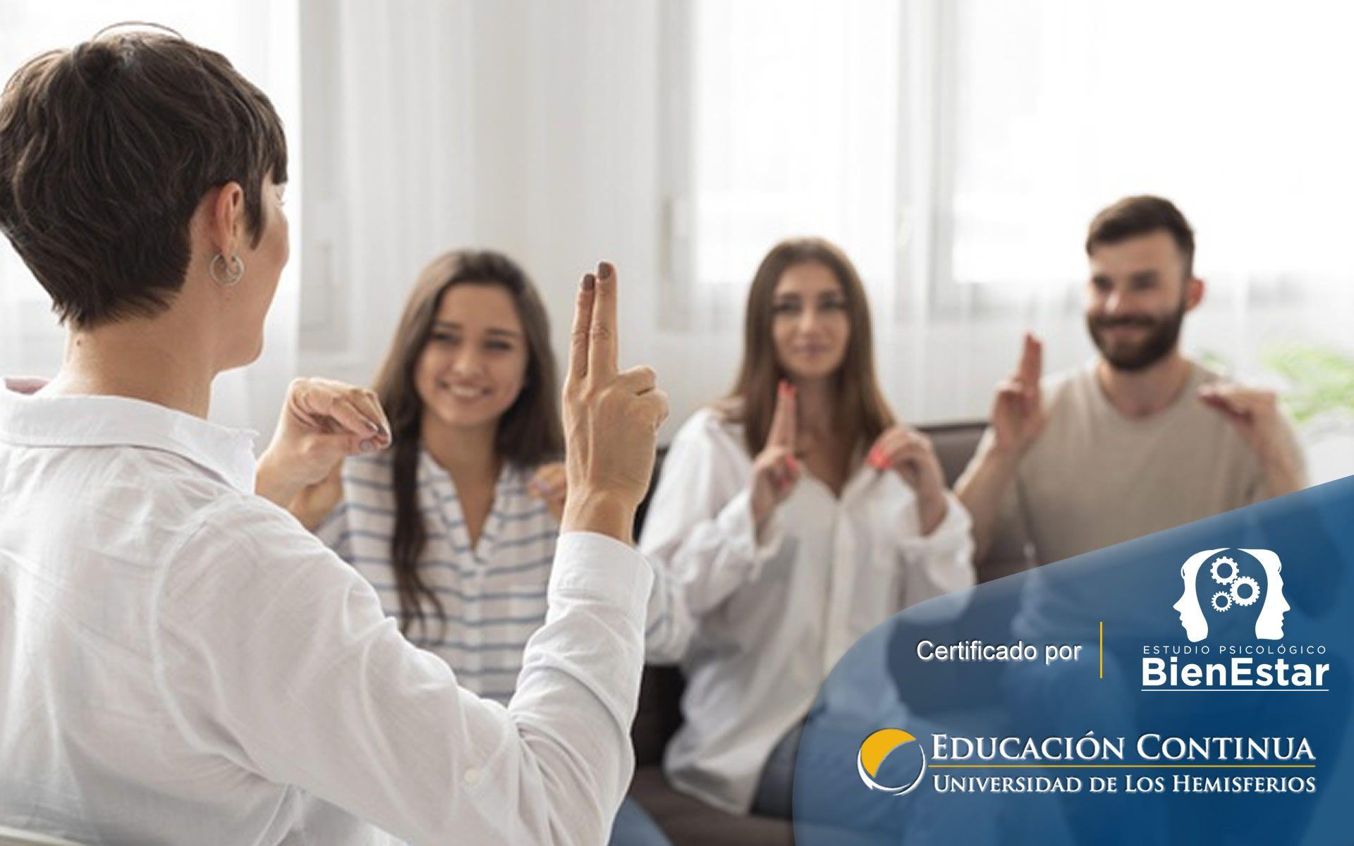 Curso Nivel Medio de Lengua de Señas Ecuatoriana I