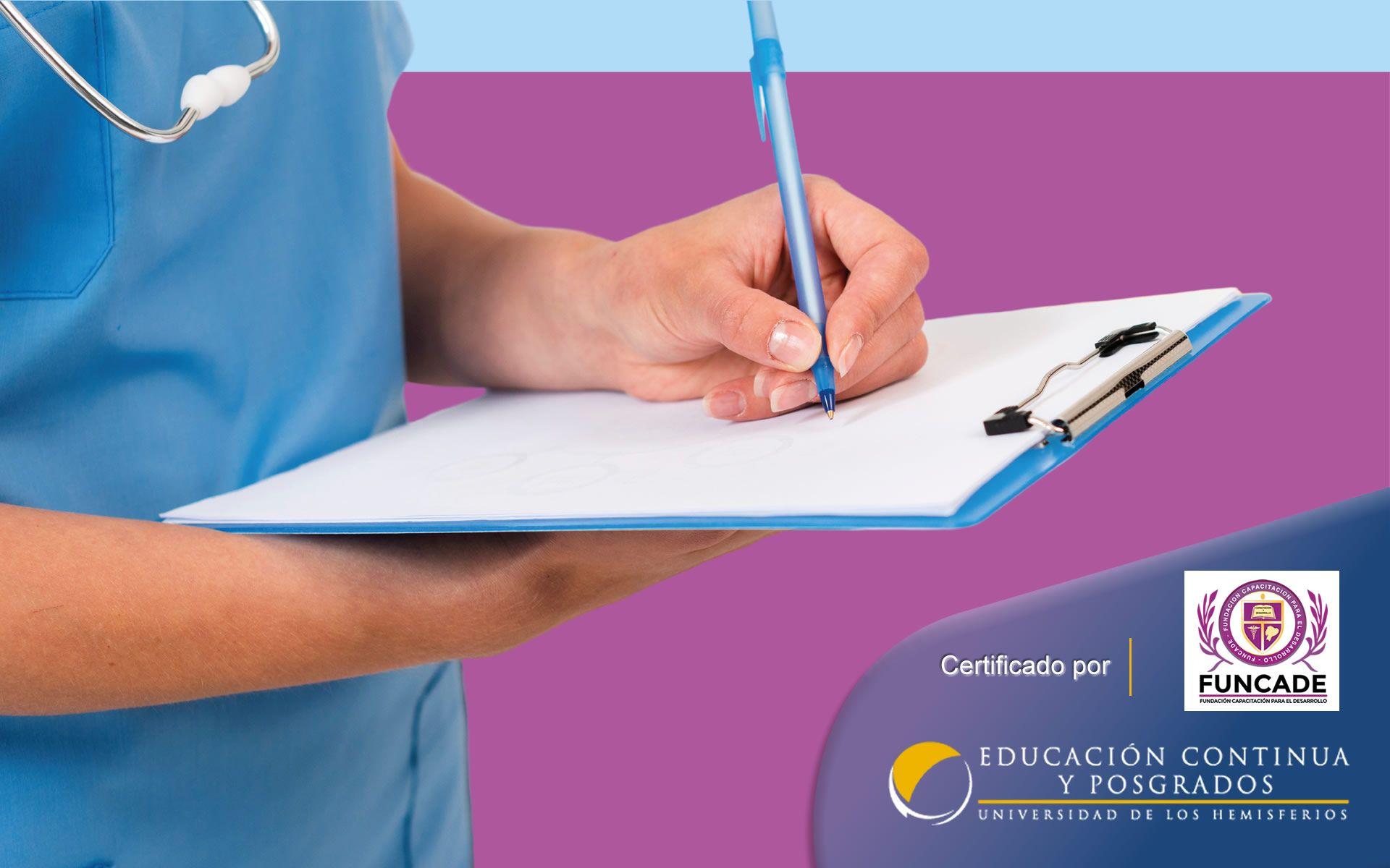 Certificación de Auxiliar de Enfermería