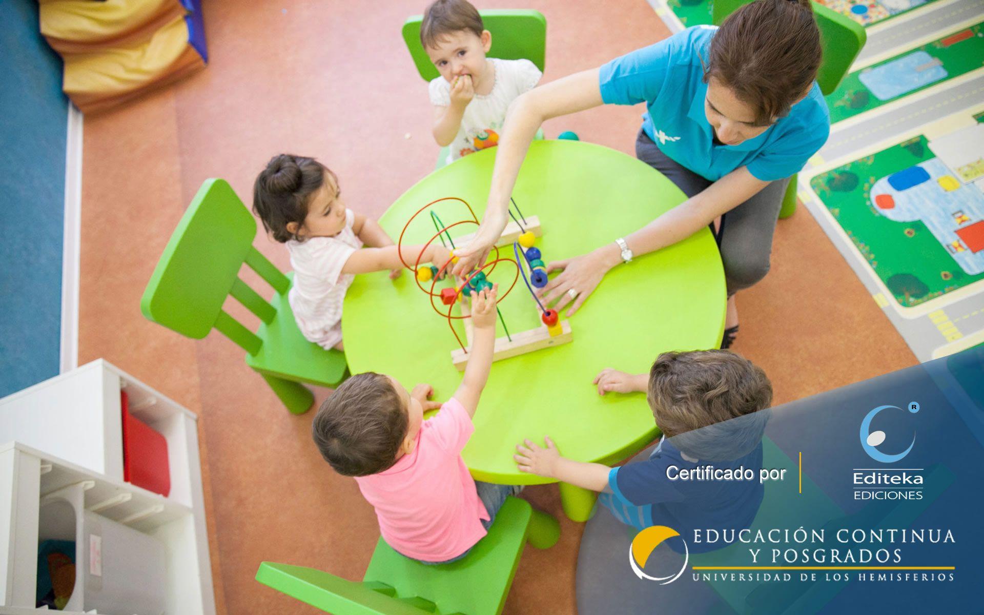 Certificación en Estrategias pedagógicas para el Nivel Inicial
