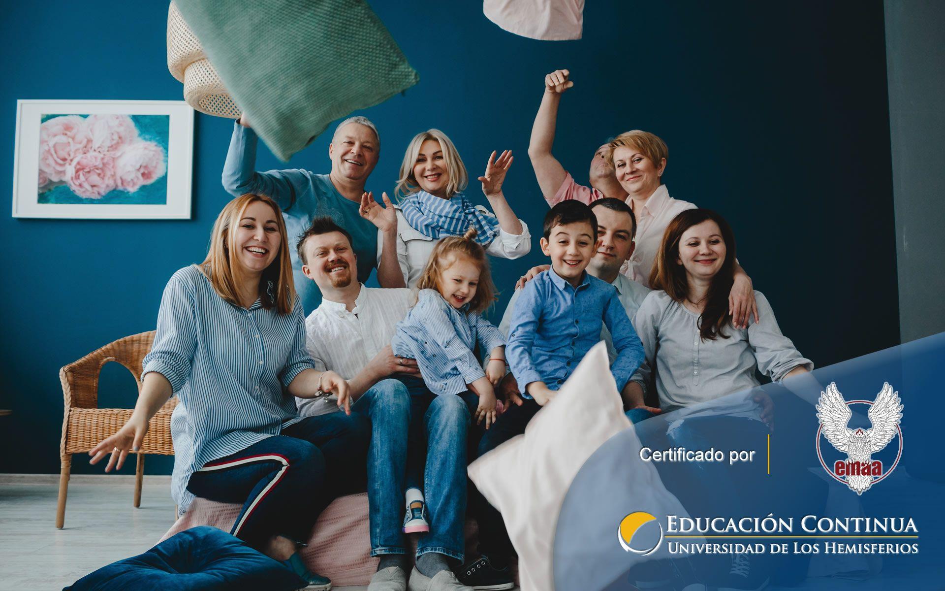 Certificación online para Psicología Familiar y de Pareja