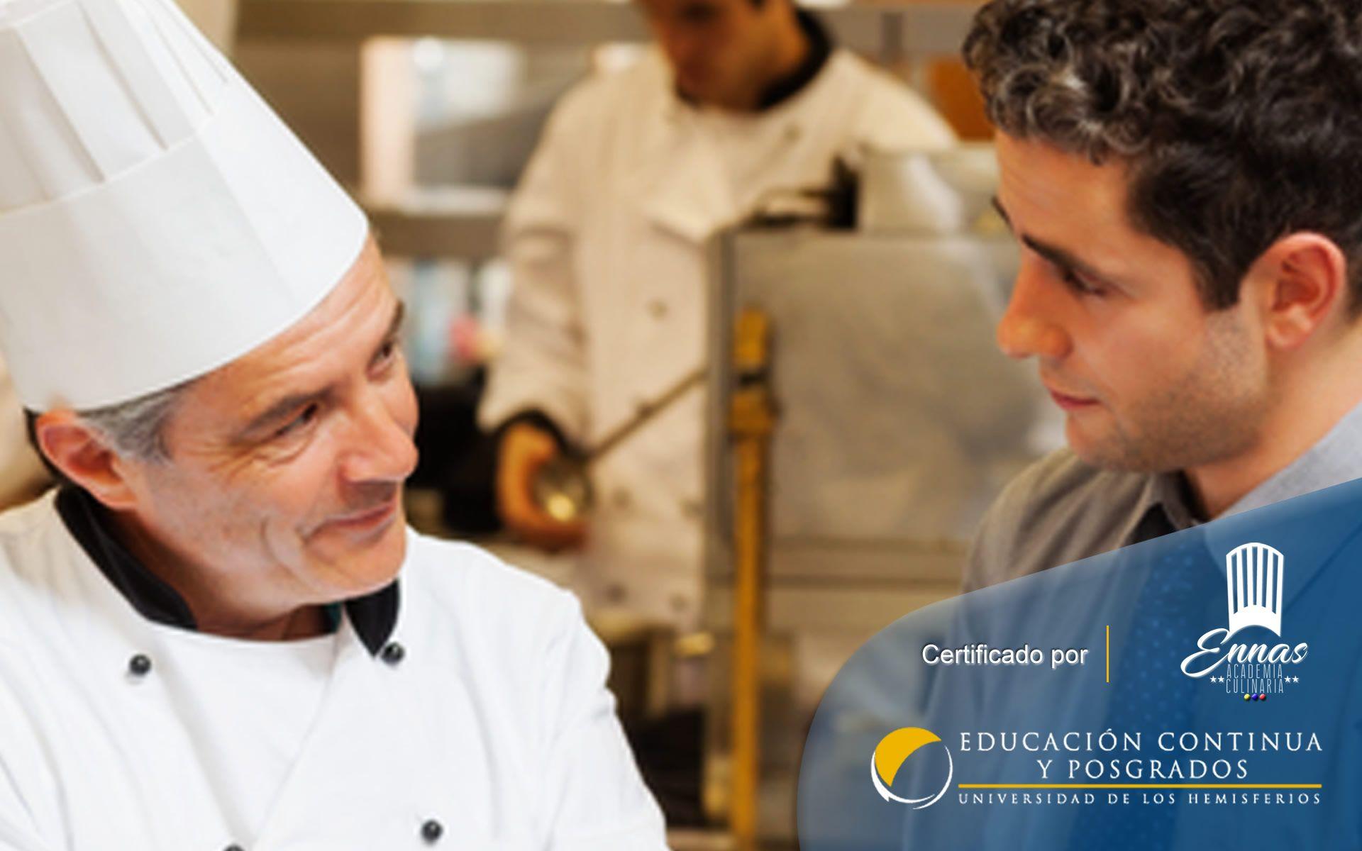 Programa de Especialización para Administrador de Restaurantes