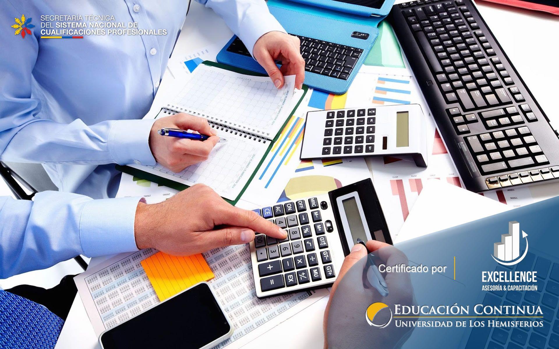 Certificación de Auxiliar Administrativo Contable y Tributario