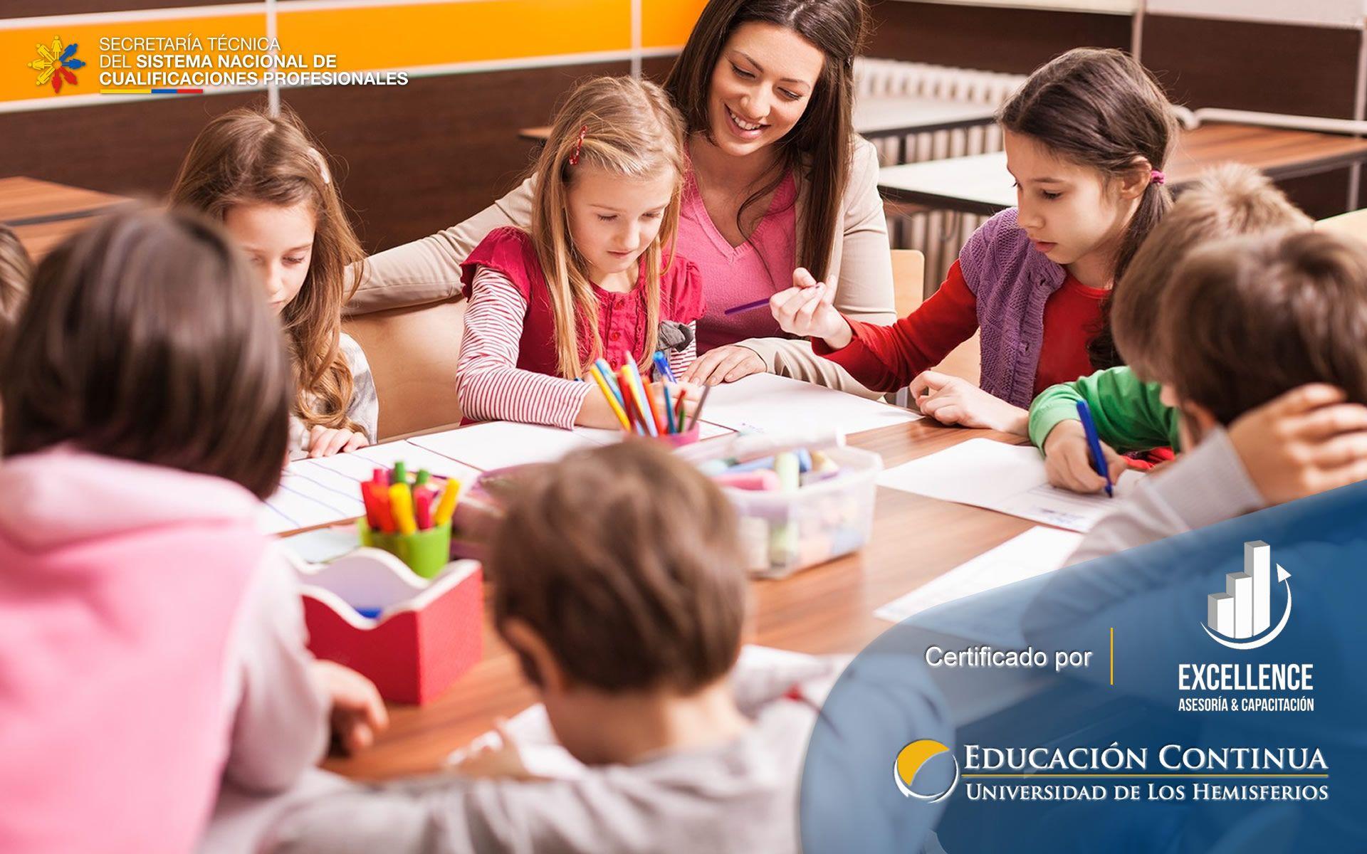 Certificación en Auxiliar de Educación Inicial