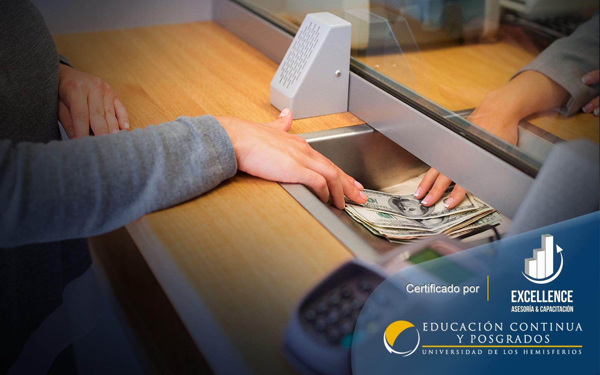 Curso Gestión en Servicios Bancarios & Financieros Mención Cajero Bancario
