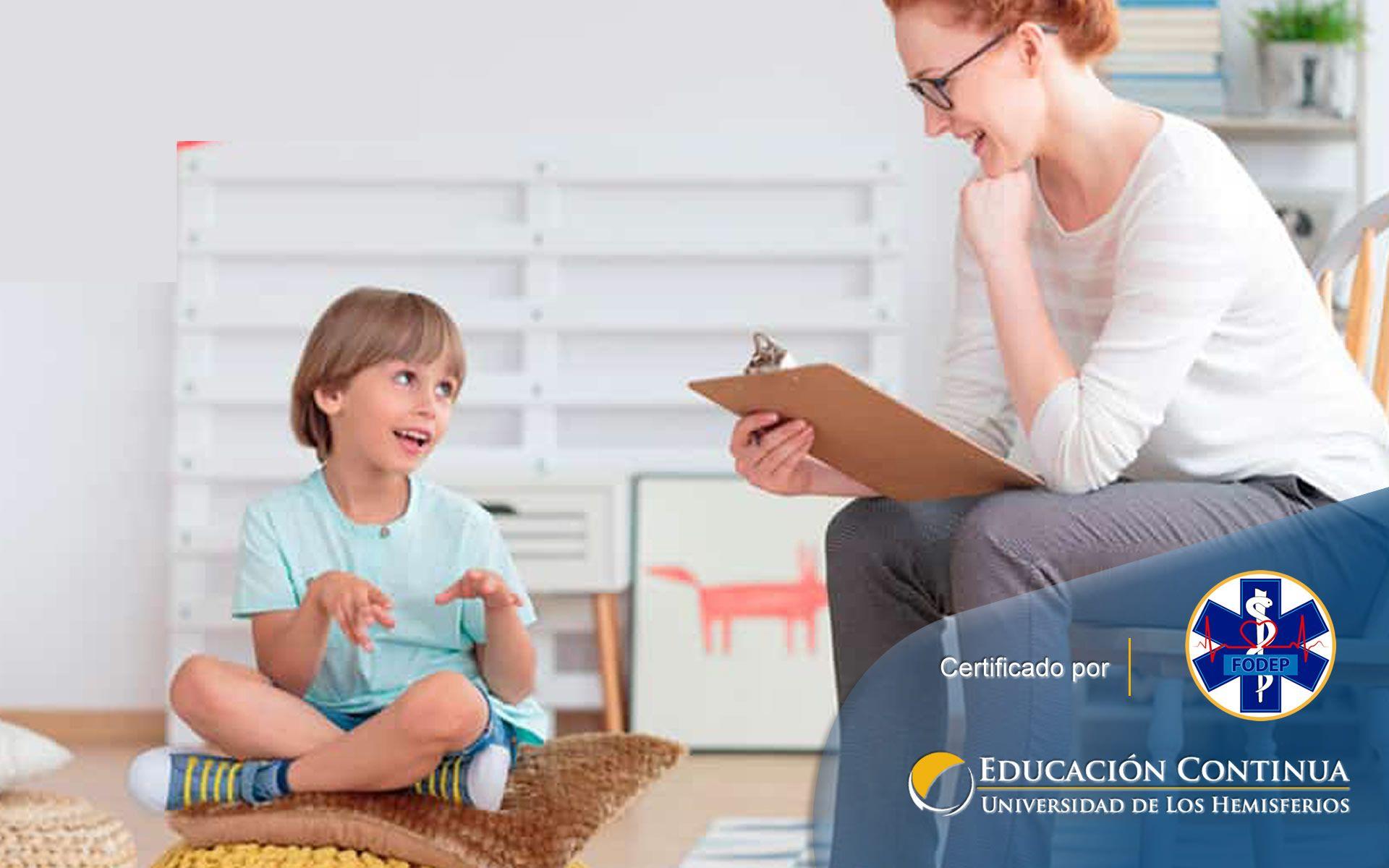 Certificación de Auxiliar de Guardería y Psicología Infantil (Machala)