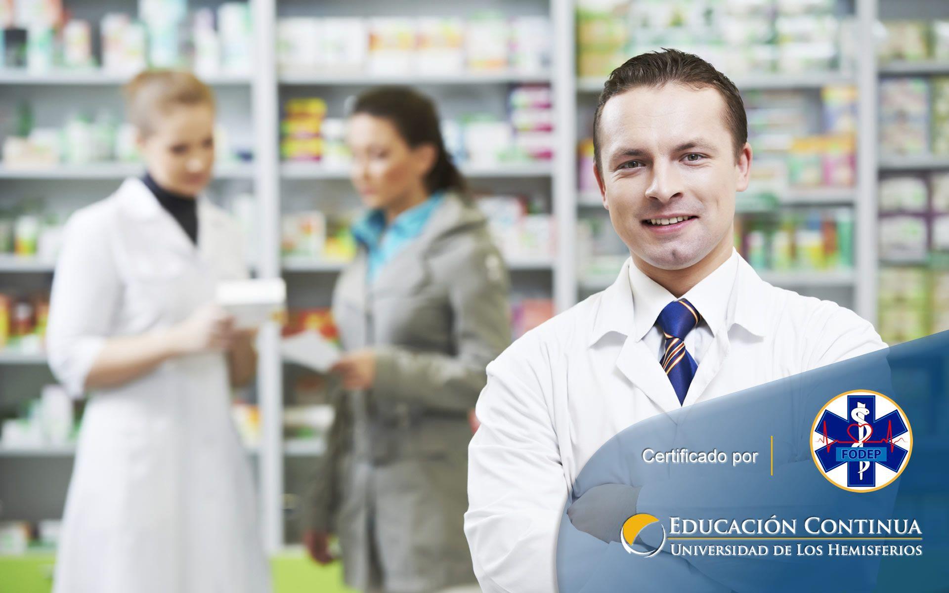 Certificación de Auxiliar en Servicios Farmacéuticos