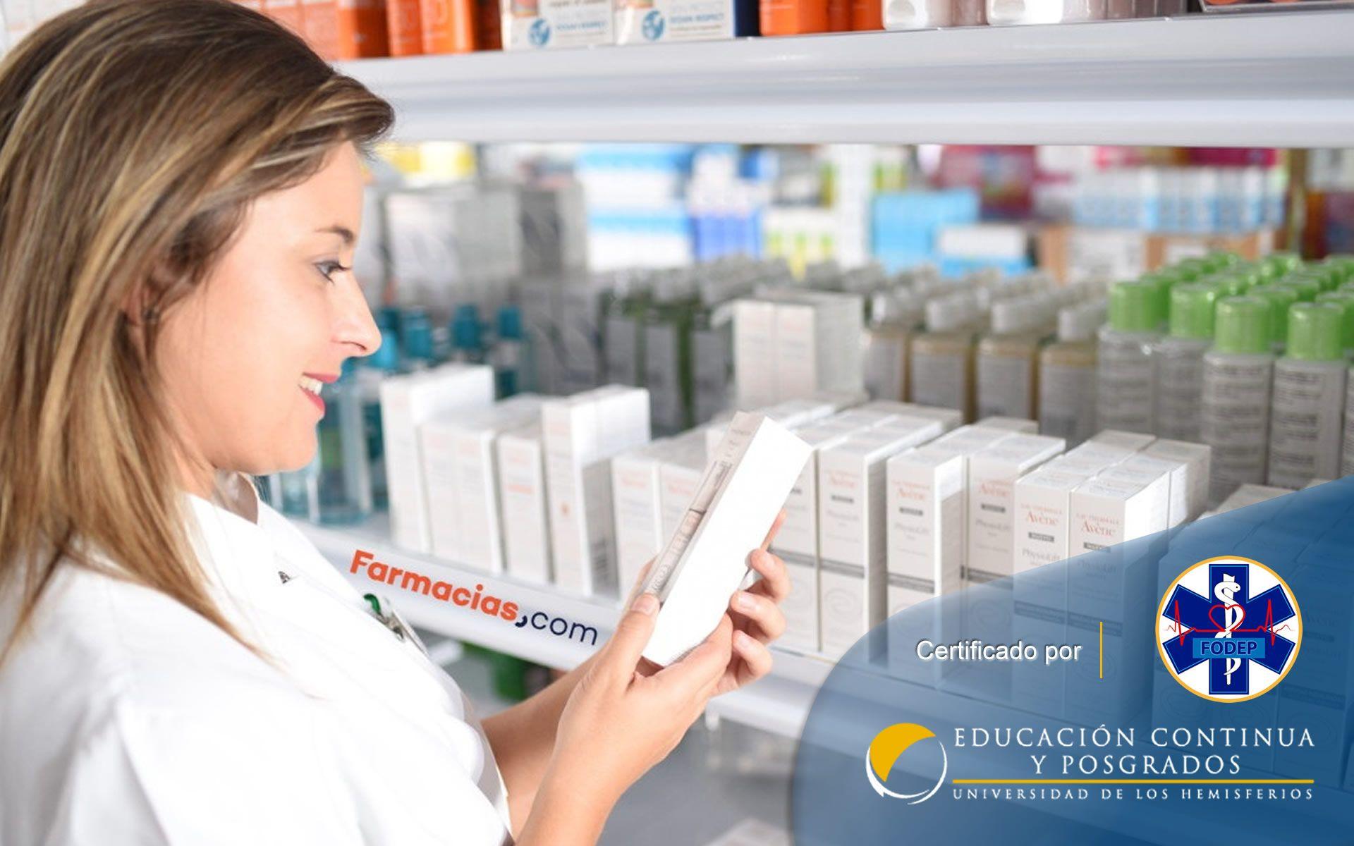 Certificación en Auxiliar en Servicios Farmacéuticos (Guaranda, Ambato)