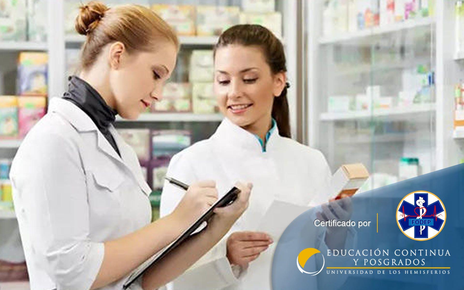 Certificación en Auxiliar en Servicios Farmacéuticos (Machala, Quevedo)