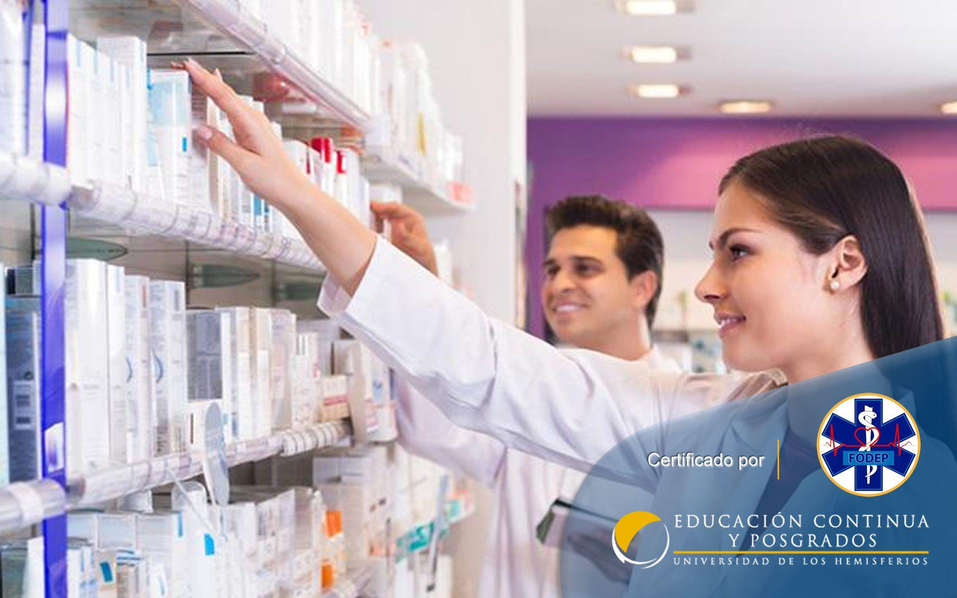 Certificación en Auxiliar en Servicios Farmacéuticos (Manta, Santo Domingo, Santa Elena)