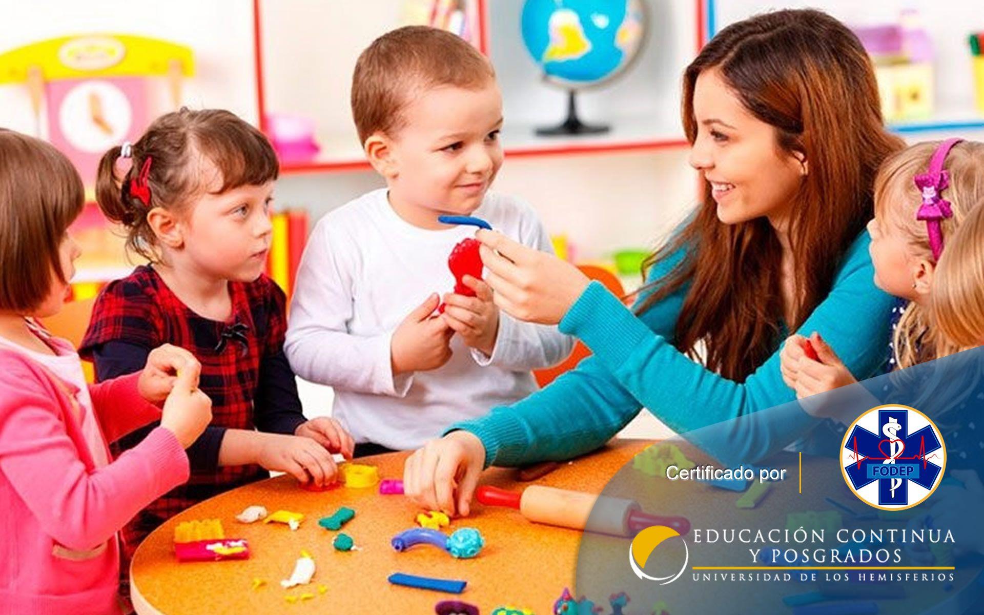Certificación en Auxiliar de Parvulario Mención Asistente Materno Infantil (Santo Domingo, Manta, Portoviejo)