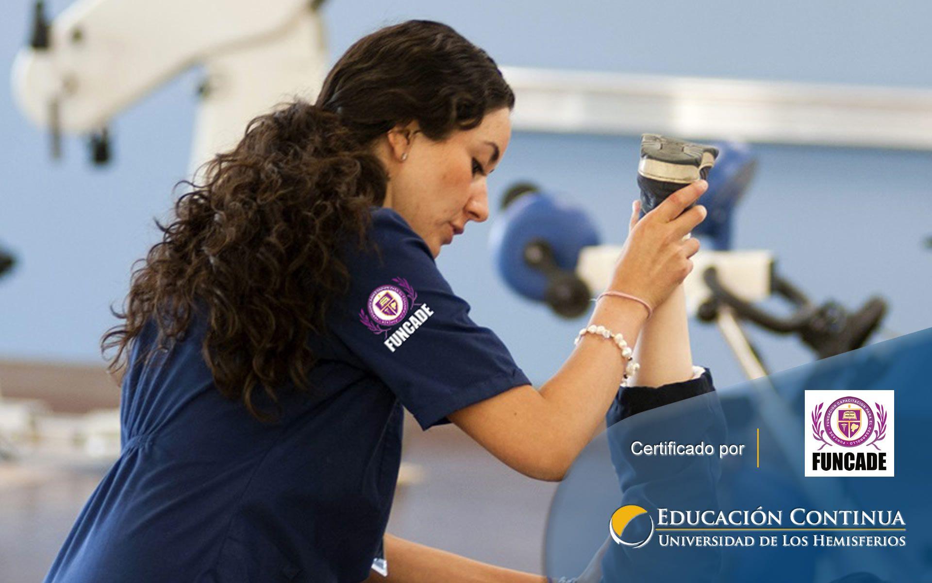 Certificación de Auxiliar de Fisioterapia
