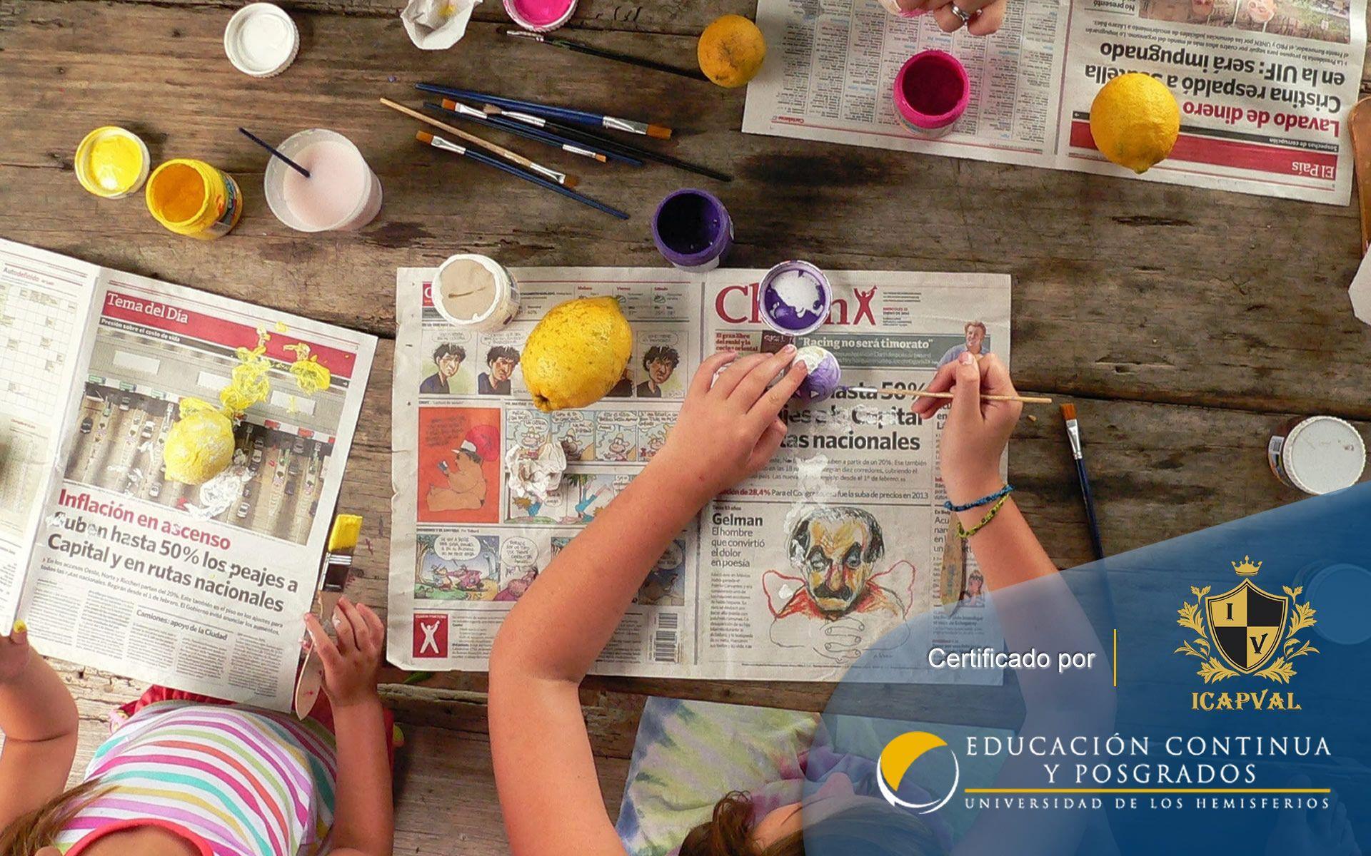 """Curso de """"Desarrollo Lúdico, Creatividad y Arte"""""""