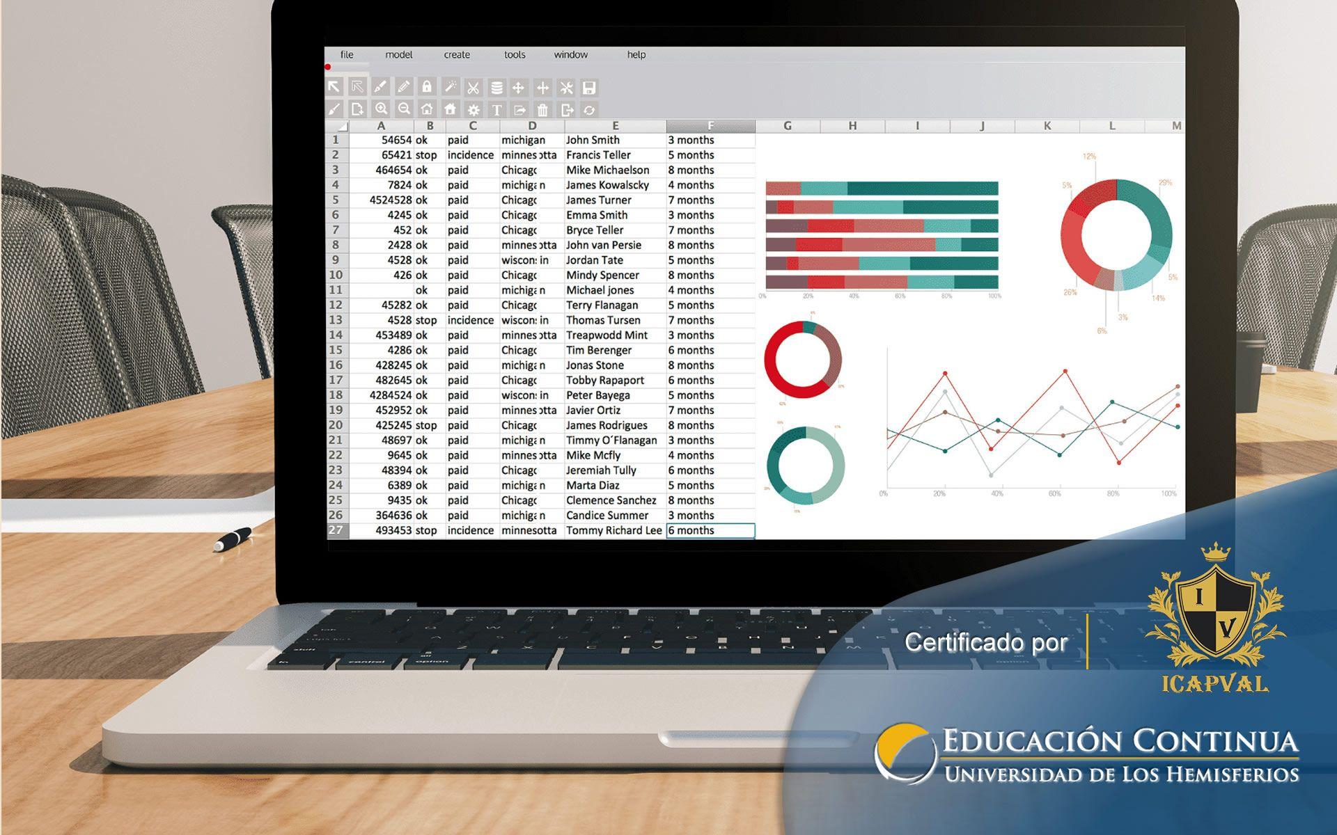 Certificación en Excel Nivel Intermedio