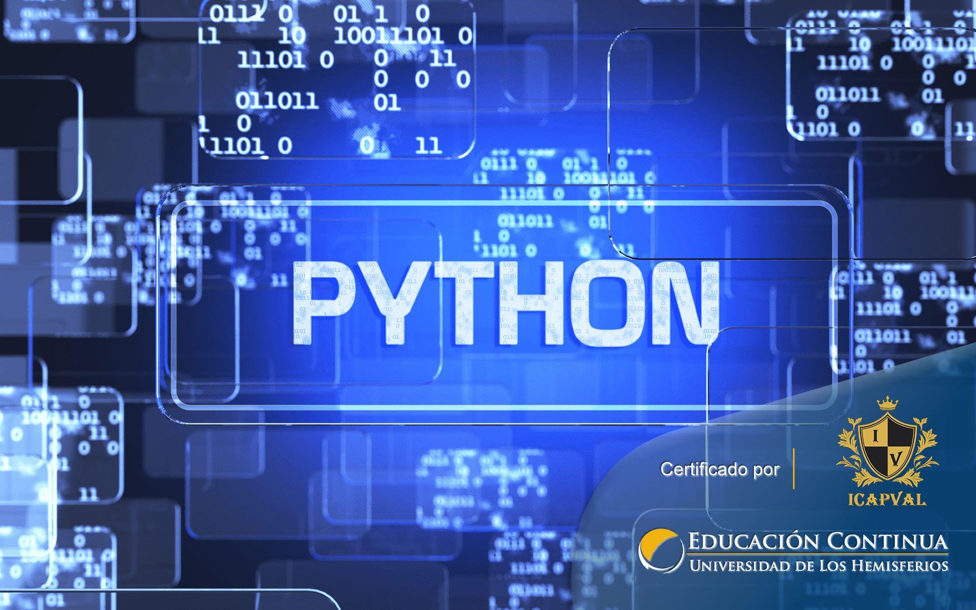 Certificación de Programación Python  (Nivel Avanzado III)