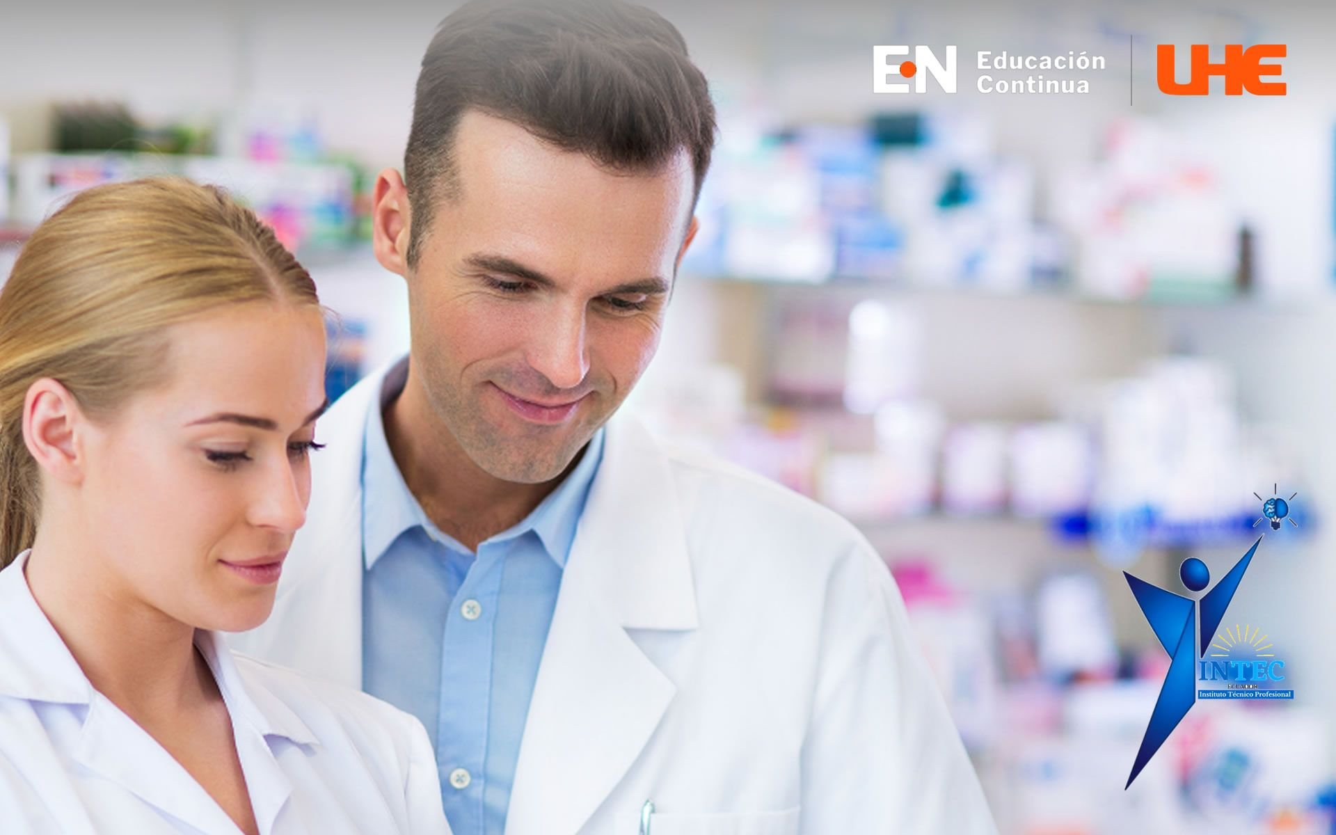 Certificación de Auxiliar de farmacia mención en atención y gestión farmacéutica comunitaria y hospitalaria