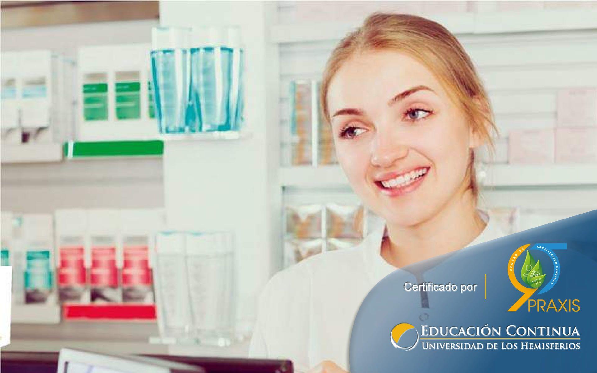 Certificación como Auxiliar de Farmacia