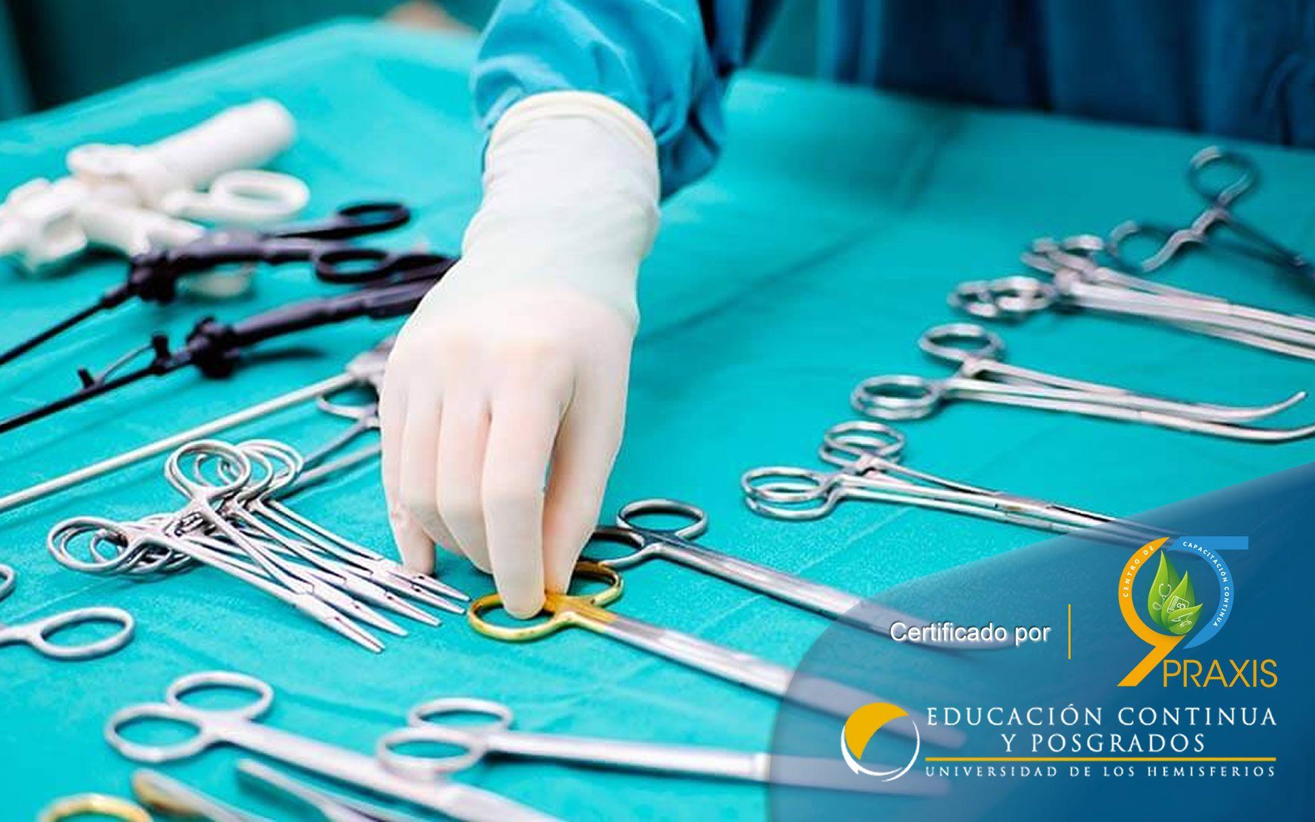 Certificación en Auxiliar Instrumentación Quirúrgica