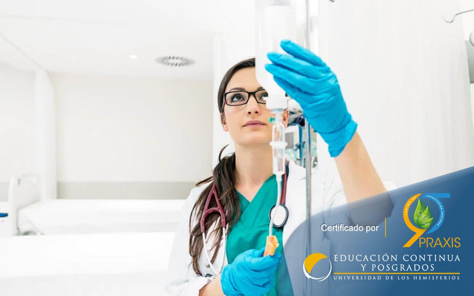 Certificación en Auxiliar en Enfermería y Cuidados Paleativos