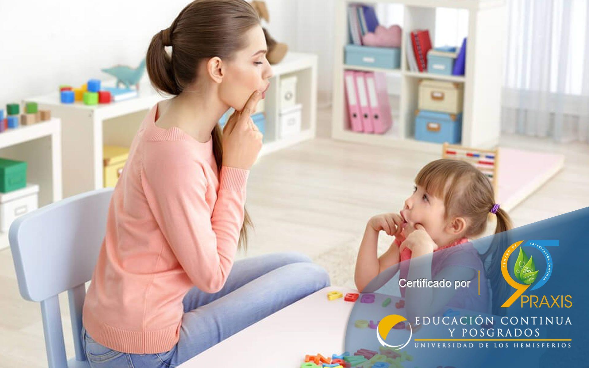 Certificación Especialista en Terapia y Estimulación del Lenguaje