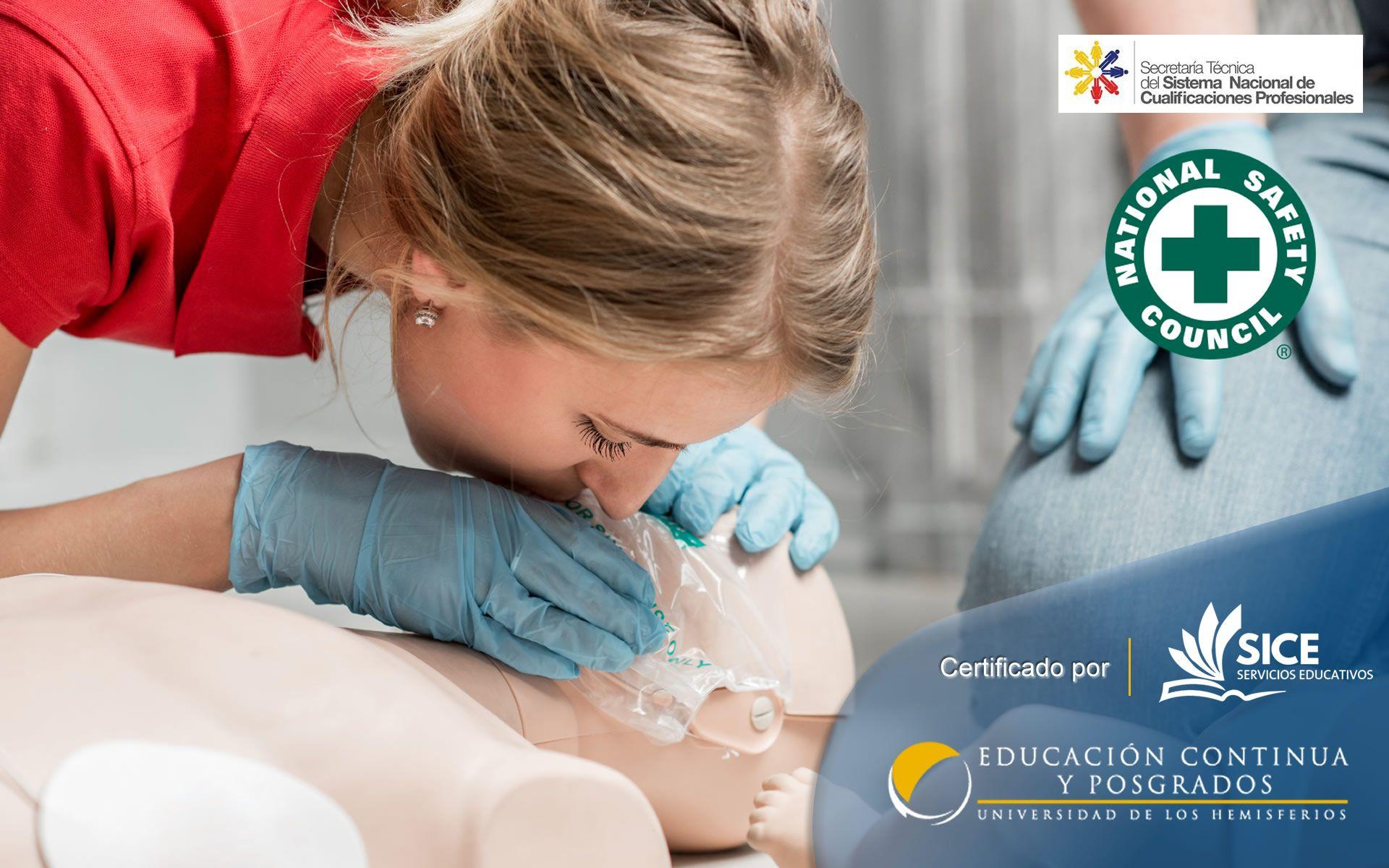 Certificación Internacional en Primeros Auxilios RCP – DEA