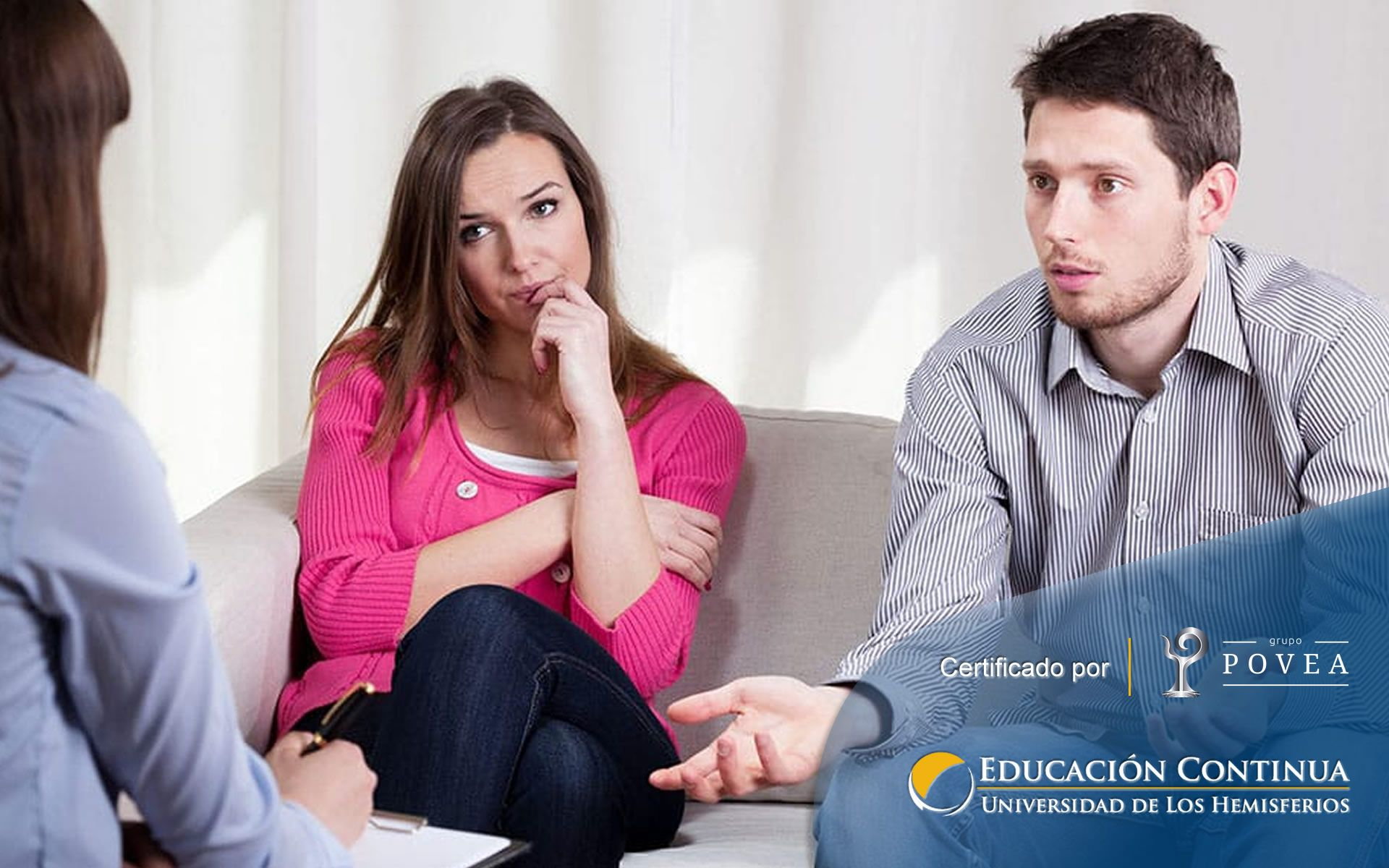 Certificación Internacional en terapia de pareja y terapia familiar